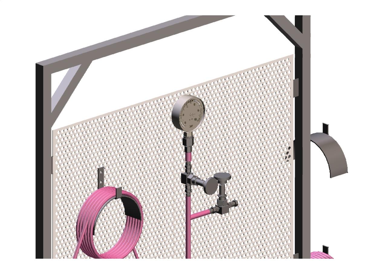 Réalisation 3D : panoplie d'un chariot hydraulique